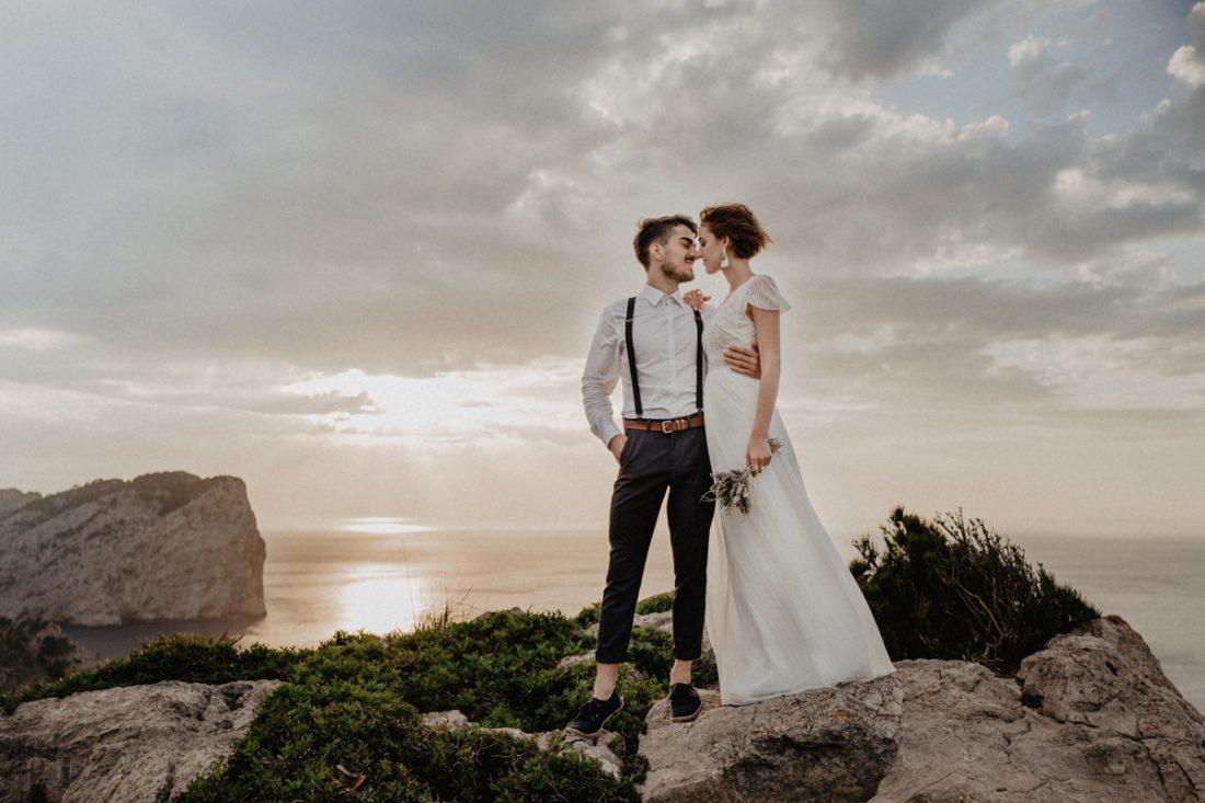 Hochzeitsshooting auf Mallorca Hochzeit Dresden