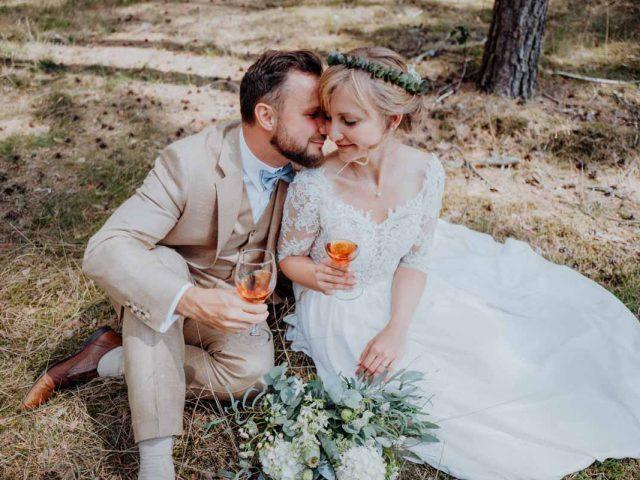 Sommerliche Hochzeit Hochzeitsfotograf Dresden