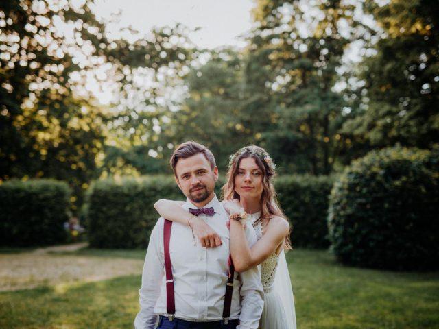 Sommerhochzeit auf Schloss Spreewiese Hochzeitsfotograf Dresden